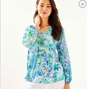 NEW Lilly Pulitzer Winsley Top!